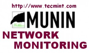Install Munin (Network Monitoring) in RHEL, CentOS and Fedora