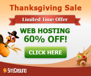 Siteground with 60% OFF and one free domain – hurry up