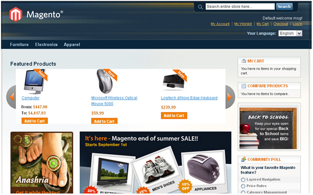 Set up Featured products in homepage in magento 1.9